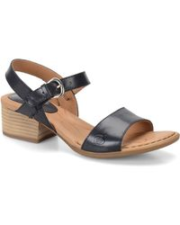 Born - Doree High-heel Leather Sandals - Lyst