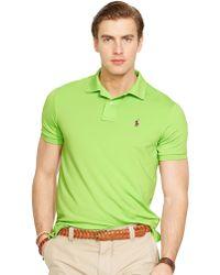 Polo Ralph Lauren Performance Polo Shirt - Lyst