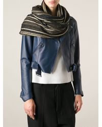M Missoni Striped Scarf - Lyst