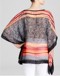 Status By Chenault - Sunset Stripe Poncho - Bloomingdale's Exclusive - Lyst