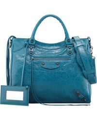 Balenciaga Classic Velo Bag Lagon - Lyst