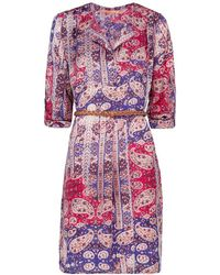 Mango Paisley Print Dress - Lyst