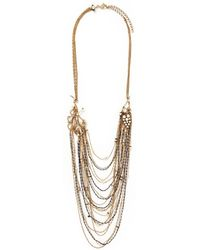 Erickson Beamon 'Grapes Of Wrath' Faux Pearl Multi Chain Necklace - Lyst