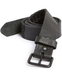 Caputo & Co. - Cord Leather Belt - Lyst