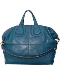 Givenchy Nightingale Medium Zanzi Leather Bag - Lyst