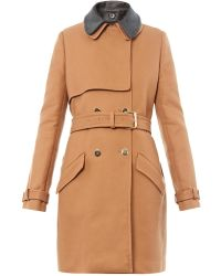Vanessa Bruno Athé - Double-Breasted Trench Coat - Lyst