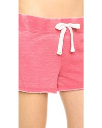 Honeydew Intimates Burnout French Terry Lounge Shorts - Rip Tide - Lyst