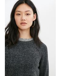 Mouchette | Jessica Mixed Stitch Pullover Sweater | Lyst