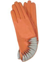 Thomasine Gloves - Paris Glove Sun Fan Wrist Geranium - Lyst