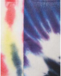 ASOS - 2 Pack Socks With Tie Dye Print - Lyst