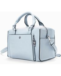 Zara Structured Mini Bowling Bag - Lyst