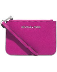 Michael Kors  Jet Set Travel Small Wristlet - Lyst