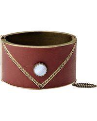 Isabel Marant Bracelet brown - Lyst