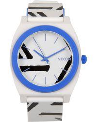 Nixon Blue Wrist Watch - Lyst