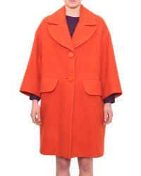 Vivetta Wool Solen Coat - Lyst