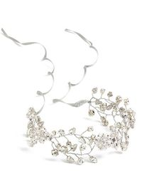 Nestina Accessories - Crystal Vine Bridal Head Piece - Lyst
