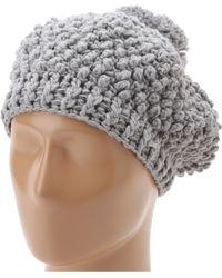 San Diego Hat Company Knh3230 Popcorn Knit Pom Beanie - Lyst