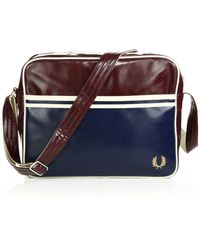 Fred Perry Classic Shoulder Bag blue - Lyst