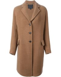 Marc Jacobs Oversized Small Lapels Coat - Lyst