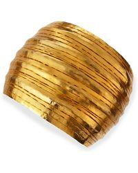 Herve Van Der Straeten - Salome Gold Collar Cuff - Lyst
