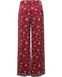 Etro - Wildflower Silk Pyjama Trousers - Lyst