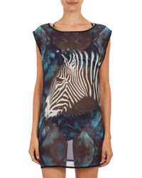 We Are Handsome Zebra Chiffon Coverup - Lyst