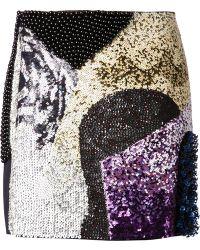 3.1 Phillip Lim Embellished Skirt - Lyst