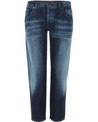 Citizens Of Humanity Skyler Lowrise Boyfriend Jeans in Vista - Lyst