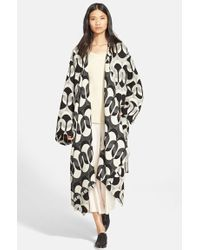 Tracy Reese - Jacquard Blanket Coat - Lyst