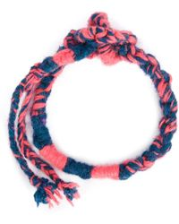 The Elder Statesman - Double Wrap Bracelet - Lyst