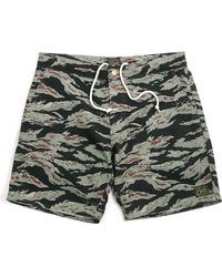 Obey Enlisted Street Trunks Tiger Camo - Lyst