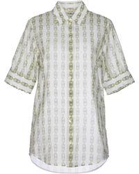 Celine Shirt green - Lyst