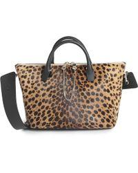 Chloé Baylee Leopard Print Shoulder Bag Baylee Leopard Print Shoulder Bag - Lyst