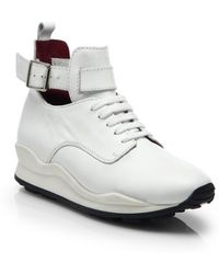 Opening Ceremony Oc Leather High-Top Sneakers - Lyst