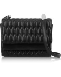 Theyskens' Theory - Sara Quilted Leather Shoulder Bag - Lyst