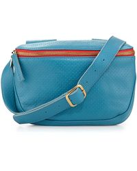 Clare V. - Perforated Petite Belt Bag - Lyst