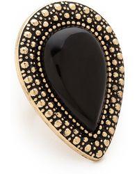 Samantha Wills - Bohemian Bardot Ring Black - Lyst
