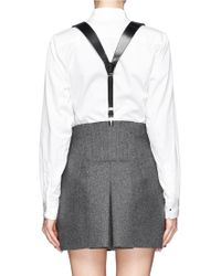 Toga - Braid Leather Suspenders - Lyst