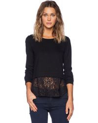 Theory Bente Long Sleeve Top - Lyst