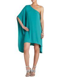BCBGMAXAZRIA Alana Side Draped Dress - Lyst