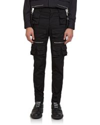 Givenchy Multi-Pocket Slim-Fit Trousers - Lyst