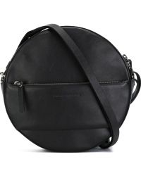 Cedric Charlier - Round Leather Shoulder Bag - Lyst