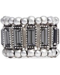 Philippe Audibert 'Titia' Emerald Cut Crystal Ring - Lyst