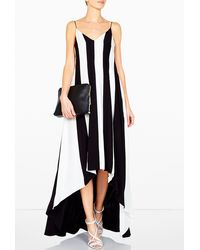 Sportmax Molveno Dip Back Hem Dress - Lyst