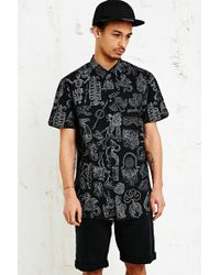 Kr3w Mythical Hyde Shirt in Black - Lyst