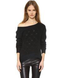 ThePerfext - Cashmere Flatbush Sweater - Black - Lyst