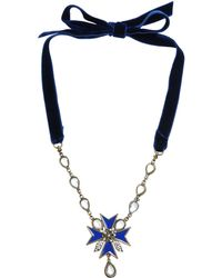 Alberta Ferretti Necklace - Lyst