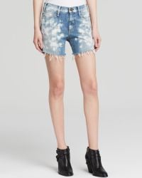 Mcguire - Riviera Distressed Shorts In Graceland - Lyst