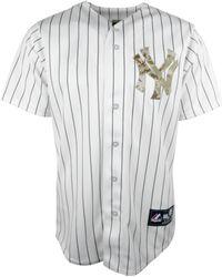 Majestic Mens Derek Jeter New York Yankees Replica Jersey - Lyst