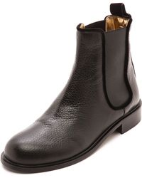 Avec Moderation Pimlico Chelsea Boots Black - Lyst